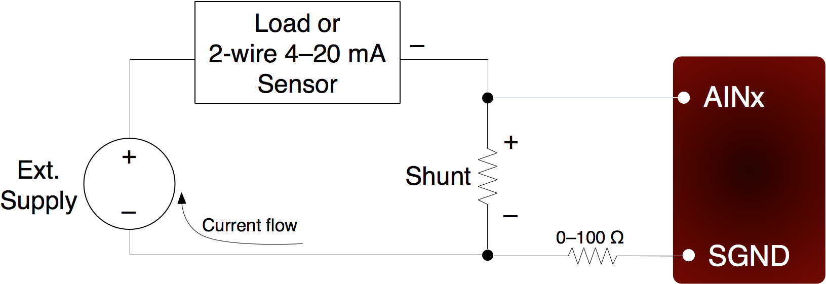 Measuring Current 4 20ma Or Other App Note Labjack