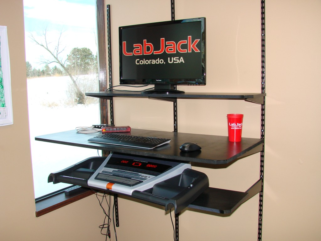 Treadmill Desk Labjack