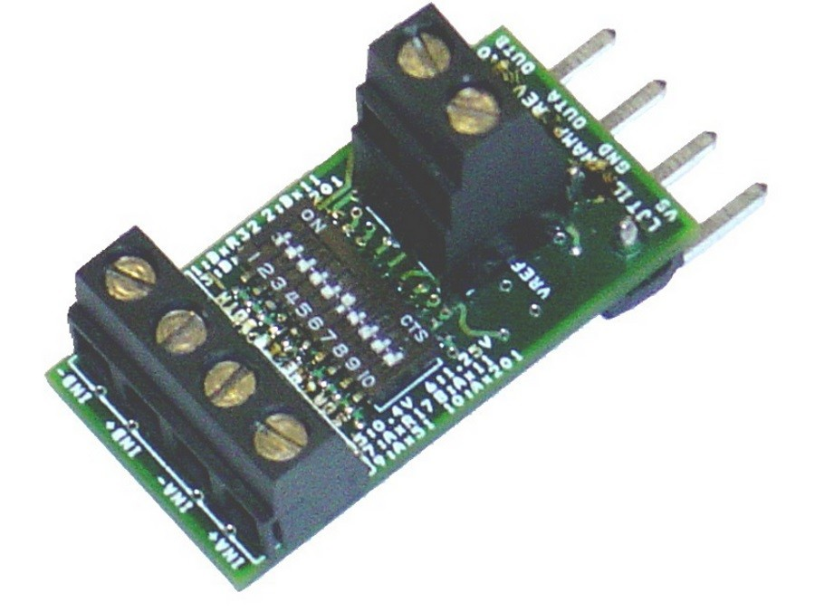 LabJack LJTick-InAmp Analog Input Amplifier Accessory Compatible with LabJack USB, Ethernet, WiFi DAQ Devices