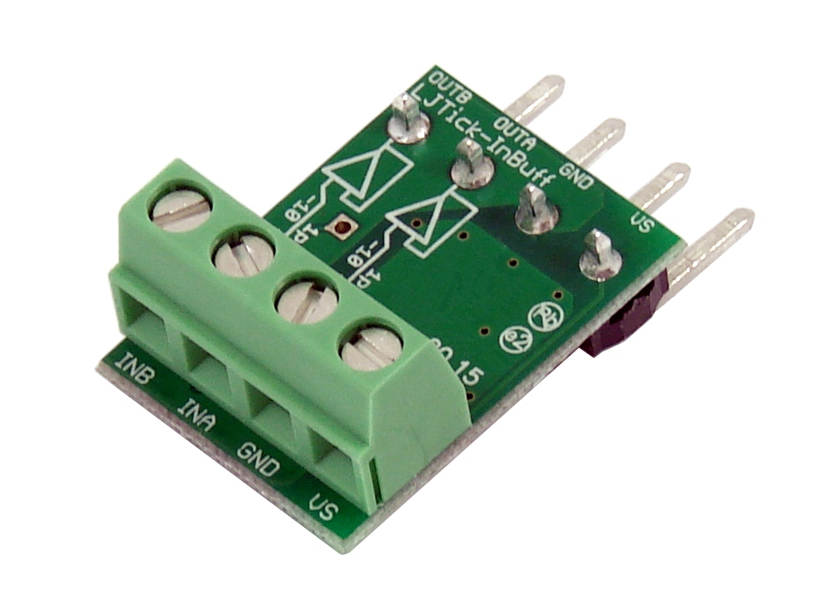 LabJack LJTick-InBuff Analog Input Signal Buffer Accessory Compatible with LabJack USB, Ethernet, WiFi DAQ Devices