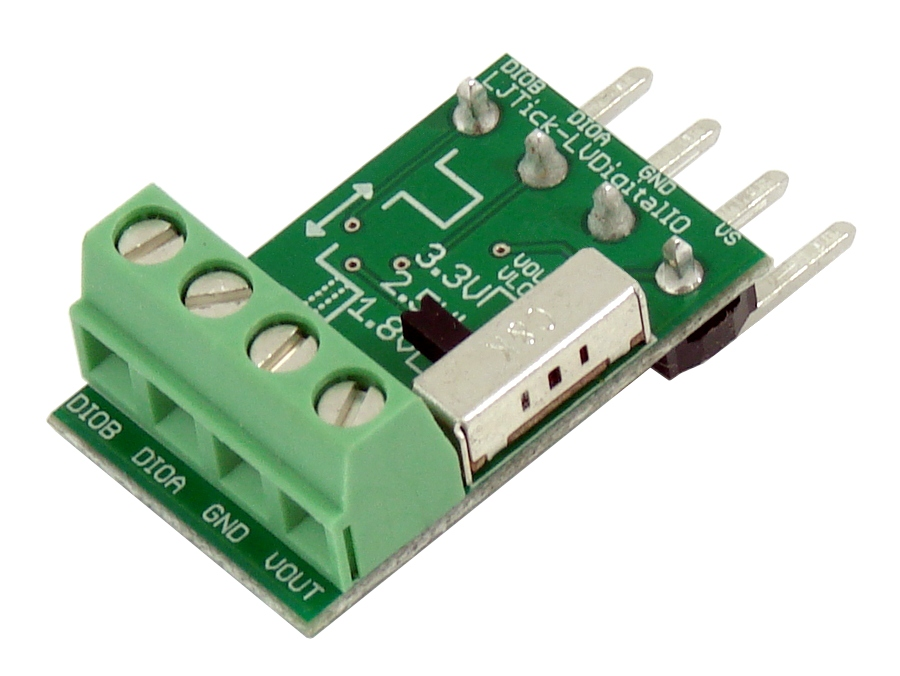 LabJack LJTick-LVDigitalIO Digital Logic Level Converter Accessory Compatible with LabJack USB, Ethernet, WiFi DAQ Devices