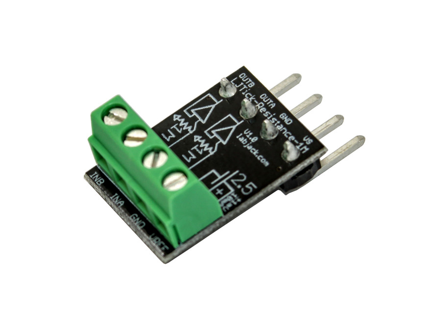 LabJack LJTick-Resistance-1M Resistor Divider Accessory Compatible with LabJack USB, Ethernet, WiFi DAQ Devices