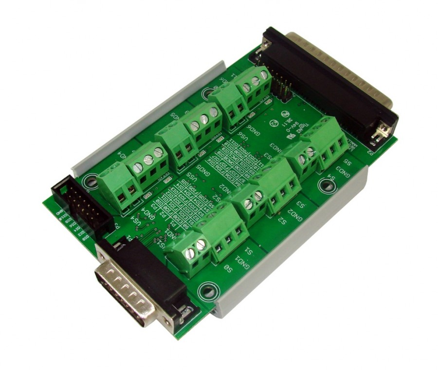 LabJack PS12DC Power Switching Board Accessory Compatible with LabJack USB, Ethernet, WiFi DAQ Devices