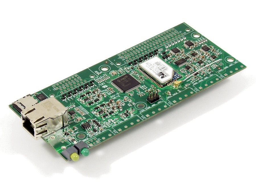 LabJack T7-Pro-OEM Low Cost USB, 802.11b/g Wifi, and Ethernet data acquisition (DAQ) Device Picture