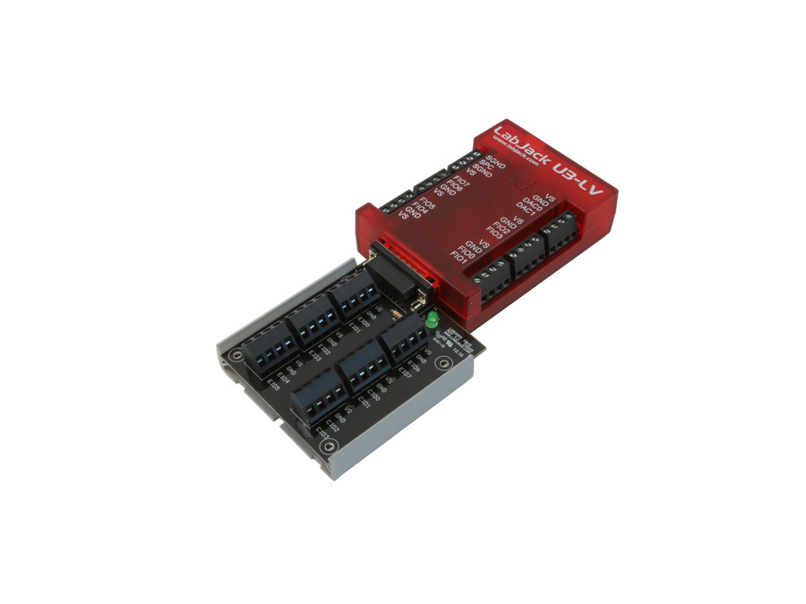 LabJack U3-LV Low Cost USB DAQ Device with CB15