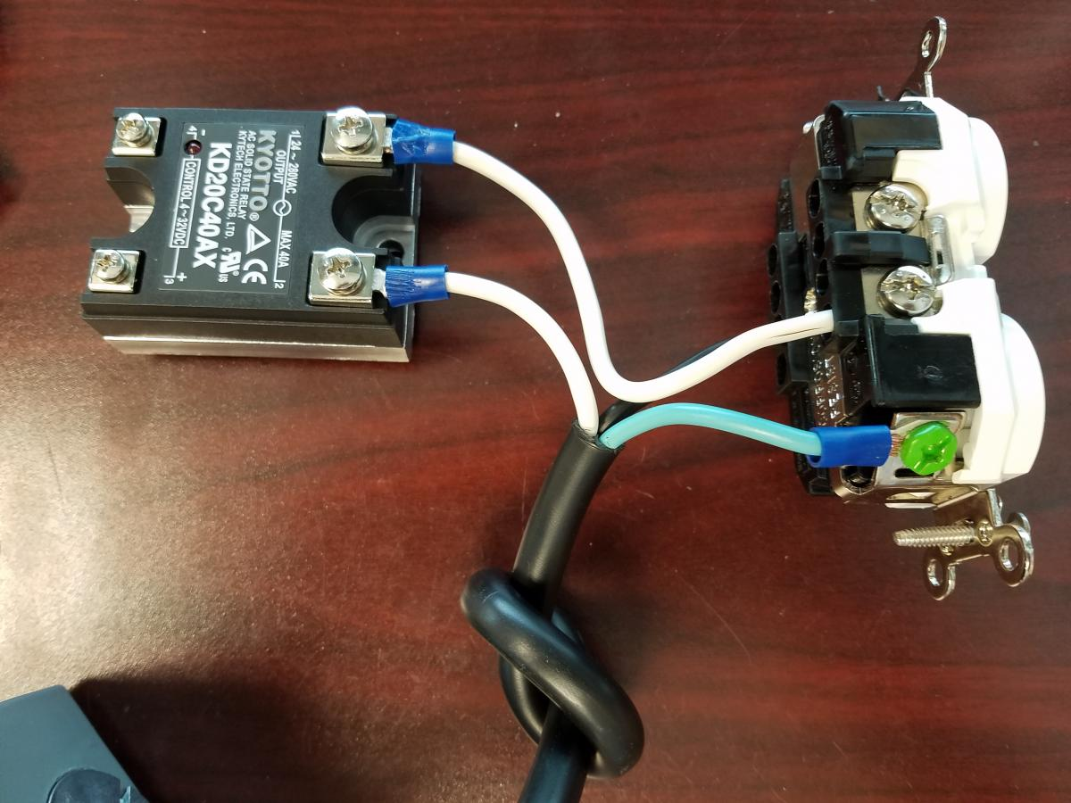 Solid State Relay Control Box For Ac Devices App Note Labjack Fail Closed The