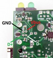 T7 OEM USB Pin-out